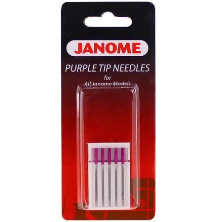 Janome Purple Tip Needles (quilting)