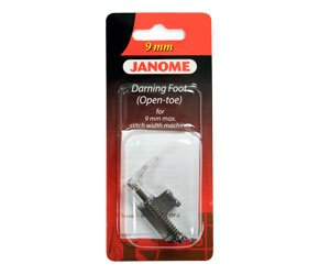 Janome Darning foot (open-toe)  9mm