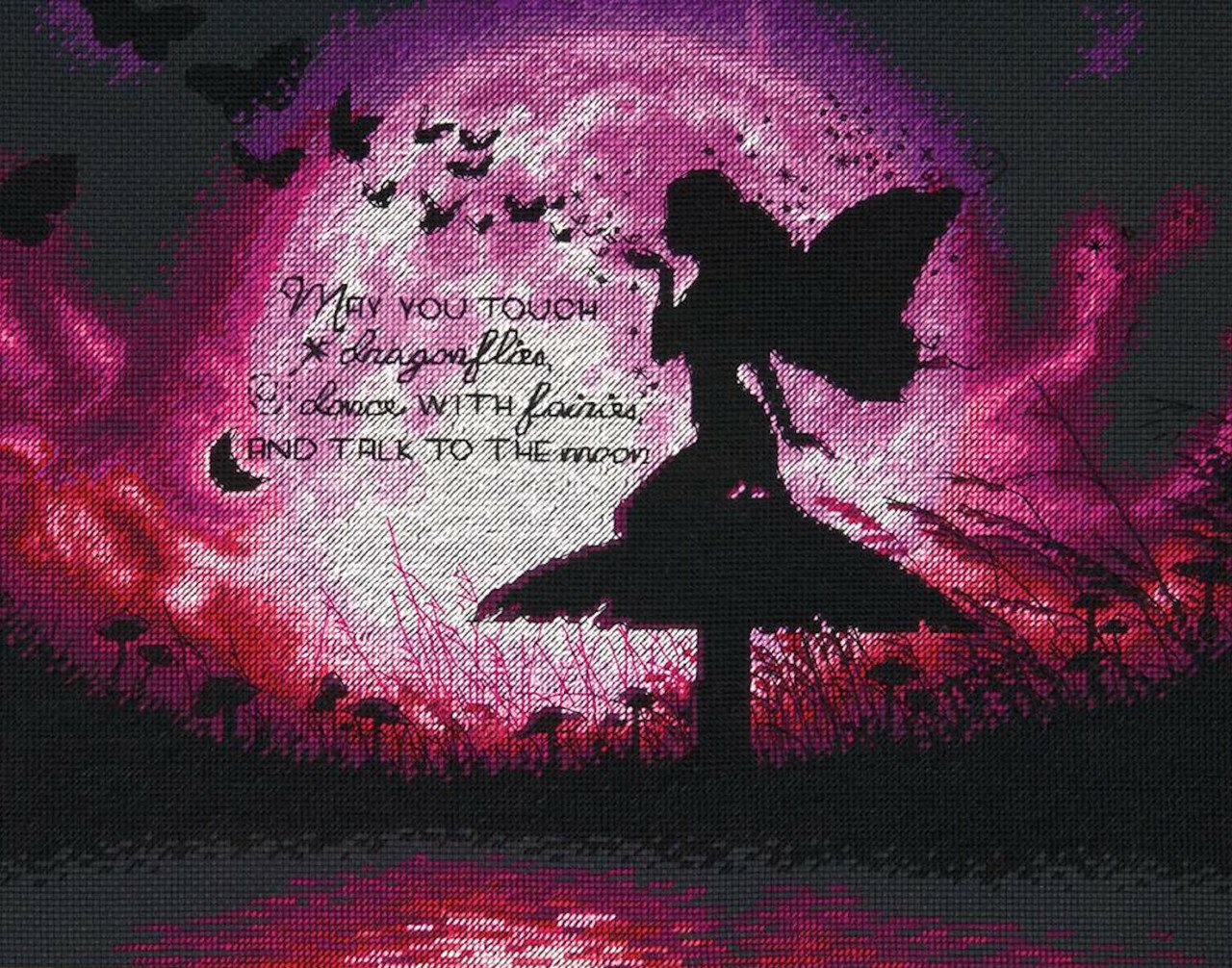 Dimensions - Butterfly Fairy Counted Cross Stitch Kit