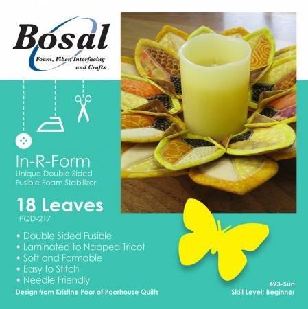 In-R-Form Sunflower Petals Wreath Foam Stabilizer Forms / Bosal