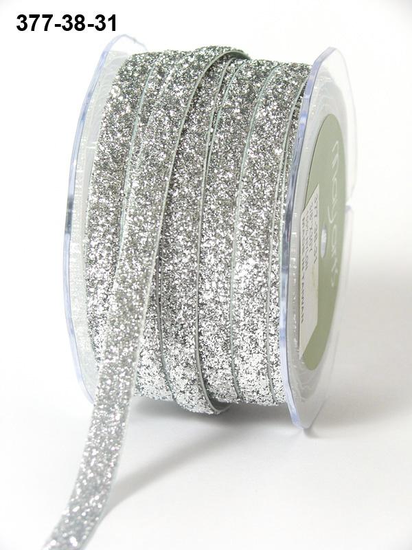 Metallic Silver ribbon