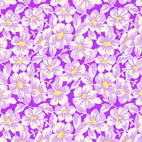 Nana Mae IV - Large Daisy by Henry Glass & Co. (9295-55 Purple)