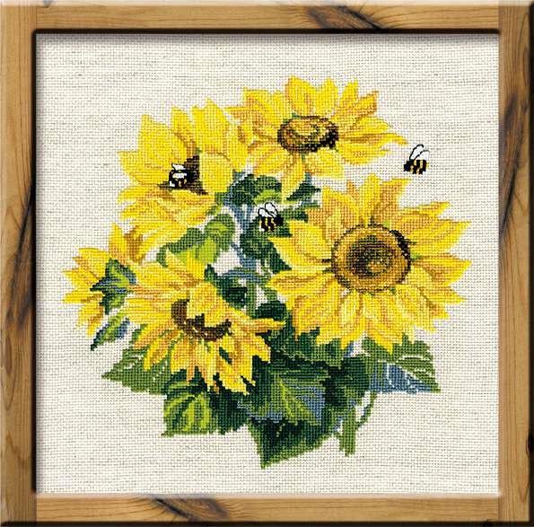 RIOLIS 776 Sunflowers Counted Cross Stitch Kit