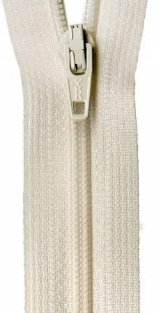 Zipper - 14in CREAMY Off-White/Tan / YKK-Atkinson Designs