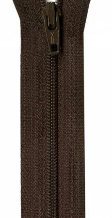 Zipper - 14in COFFEE BEAN Brown / YKK-Atkinson Designs