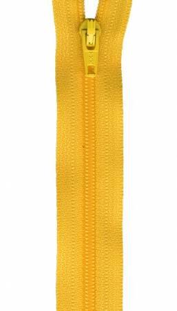 Zipper - 14in DANDELION Yellow / YKK-Atkinson Designs