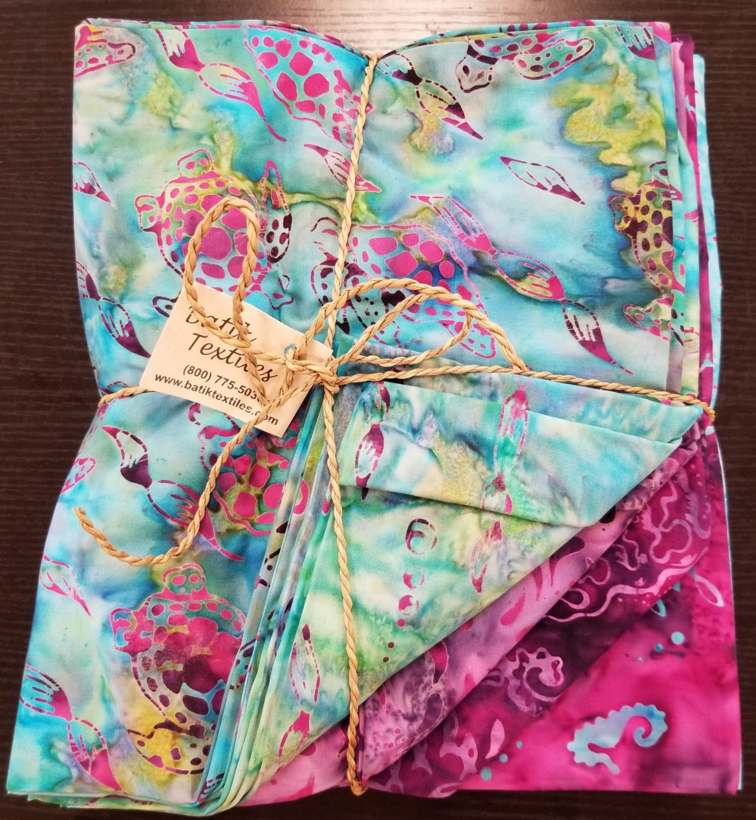 Bahrain Collection 16 1yd cuts by Batik Textiles