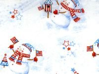 Merry Christmas Basics - Patriotic Snowmen