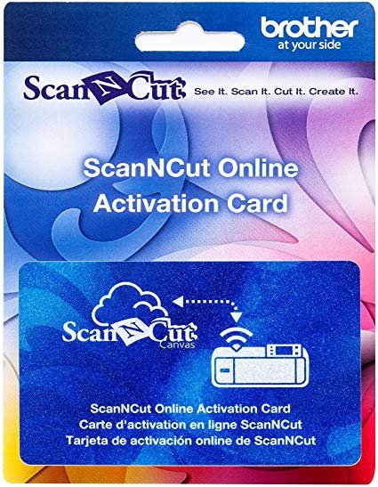 Scan N Cut Wireless Activation Card (Free Shipping)