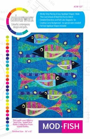 Mod Fish Quilt pattern by Linda & Carl Sullivan / Colourwerx