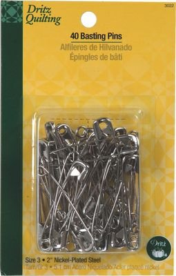 Safety Pins Size 3, 40 count