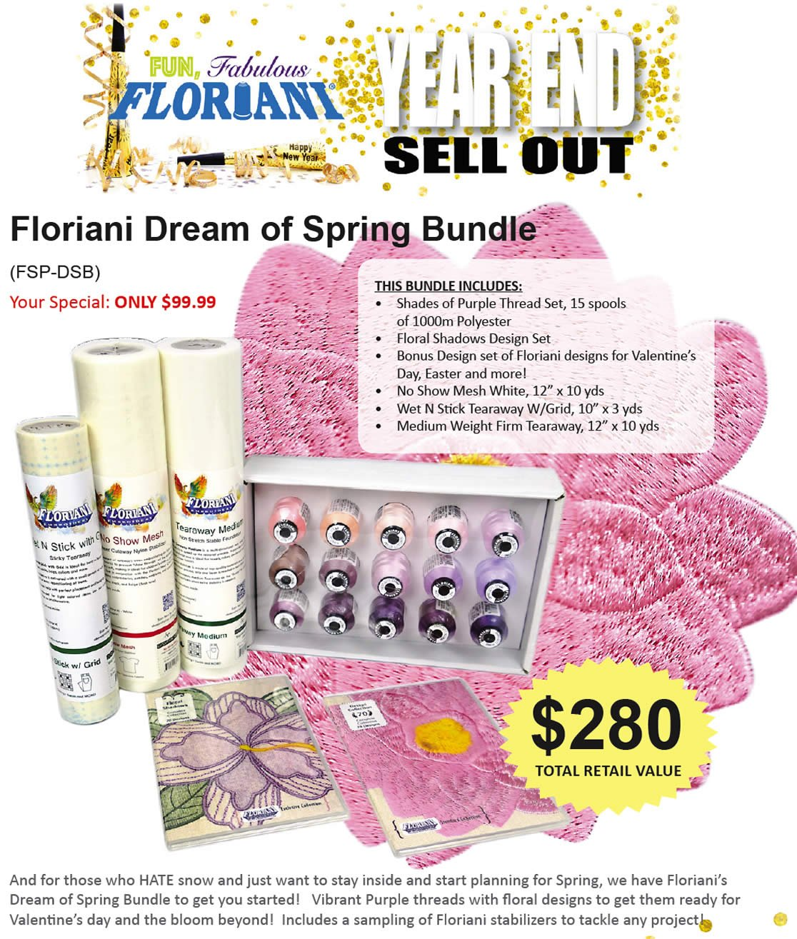 Dream of  Spring Bundle