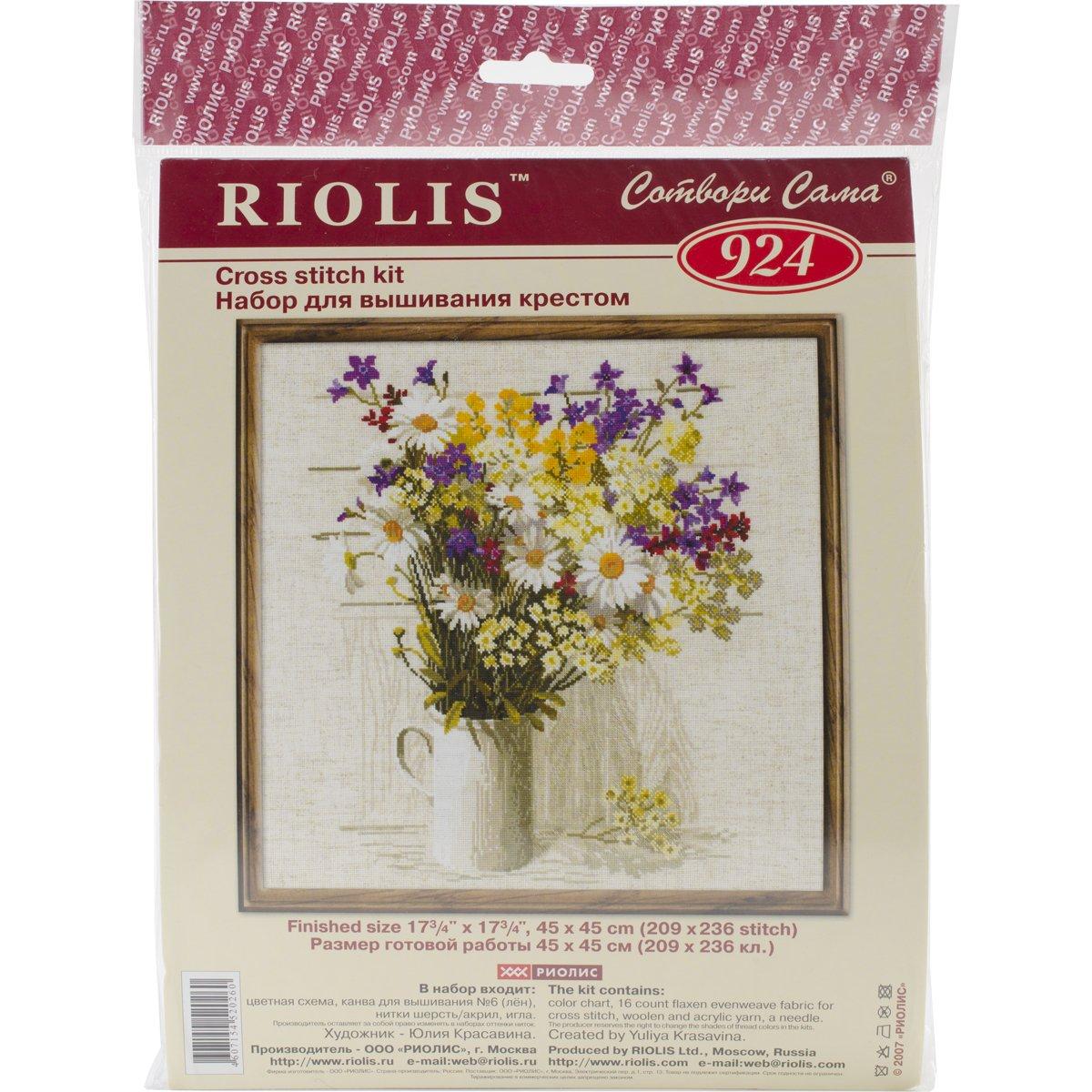 Wildflowers Cross Stitch
