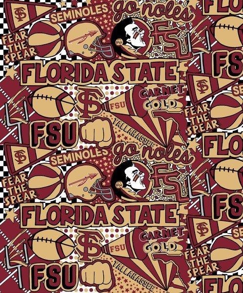 FSU - Florida State - Pop Art FSU-1165