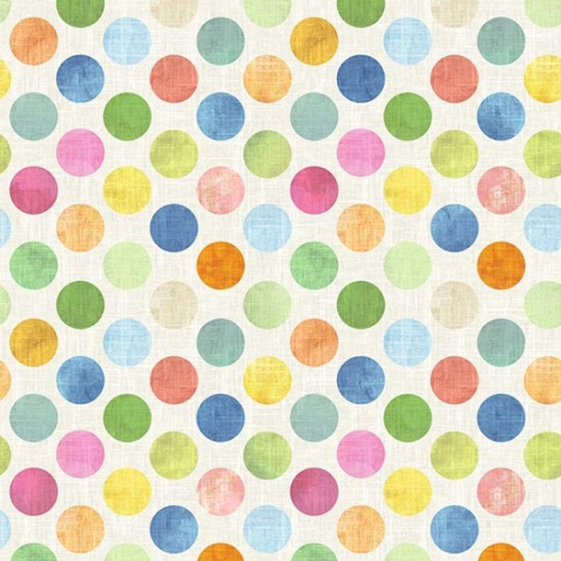 All a Twitter - 108 Wide Back - Large Dots