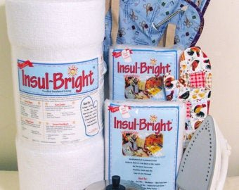 Insul-Brite Heat Resistant Insulated Batting for Hot & Cold Insulation 45 Roll (sold by the yard)