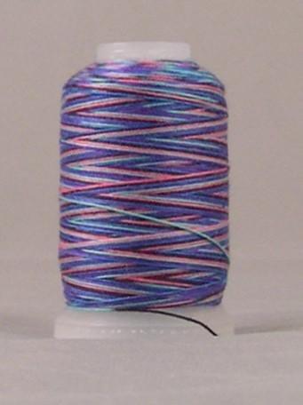 YLI - 12wt - T-90 Jeans Stitch - Polyester Thread - 180m/ 200 yd - JEWEL VARIGATE