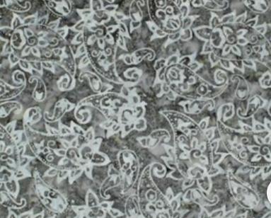 Komo Batik - Grey Floral (CD-02042-274)
