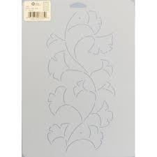 Stencil Leafy Vine  3335