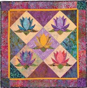 The Lotus Quilt and Table Runner - Pattern