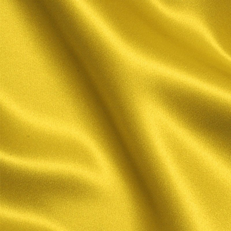 Solid Poly Satin - Citron - Michael Miller