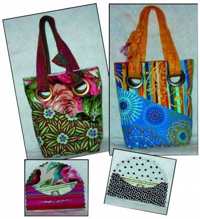 Wallet and Grommet Bag Pattern by Debbie Bowles / Maple Island Quilts