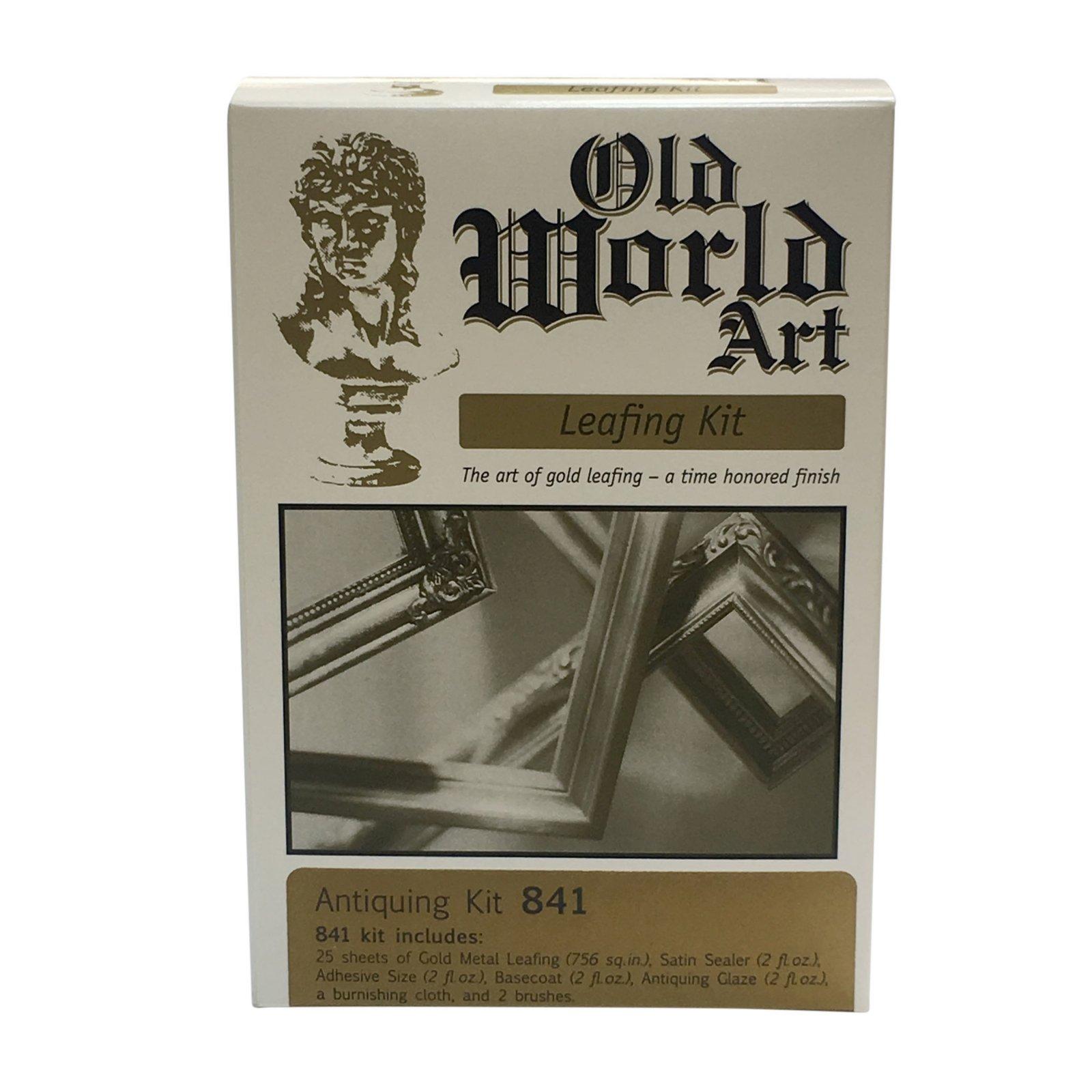Old World Art - Gold Leafing Kit - Antique #841