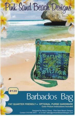 Barbados Bag pattern by Nancy Green / Pink Sand Beach Designs