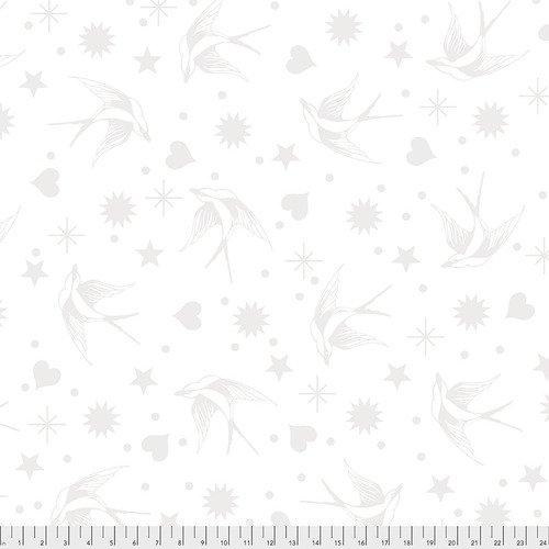 Tula Pink Linework - Fairy Flakes - Paper / Free Spirit Fabrics