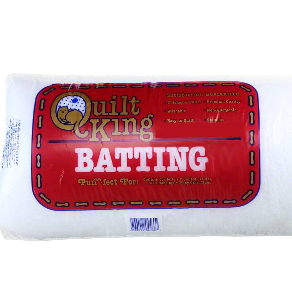 Quilt King Polyester Batting (Crib size)
