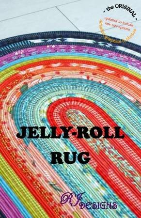 Jelly-Roll Rug Pattern by RJ Designs (30in x 44in)