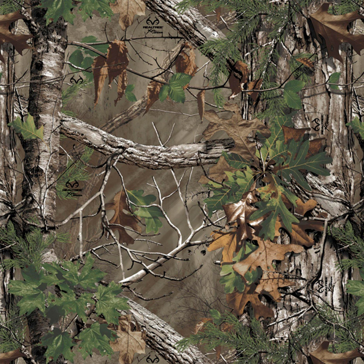 Real Tree Camouflage - EXTRA GREEN / David Textiles