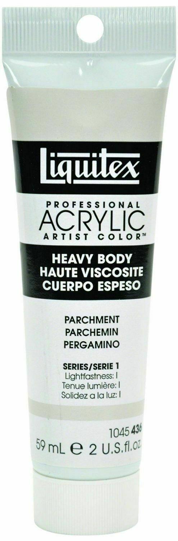 Liquitex Heavy Body Artist Acrylic Paint 2oz - Parchment