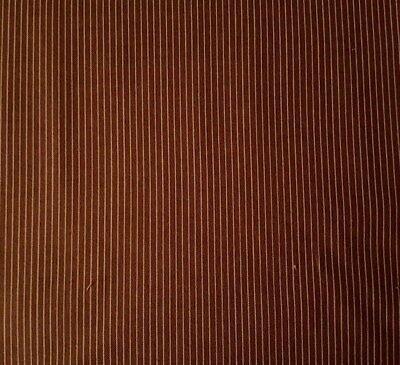 The Quilter's Guild Collection -  Elizabeth's Dowry - Brown Stripe by Karen Styles of Somerset Patchwork