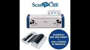 Scan N Cut DX Disney *Bundle* with Roll Feeder (save $49.99)