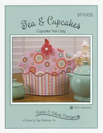 Tea & Cupcakes  a Teapot Cozy Pattern by Susie C. Shore