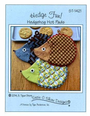 Hedge Fun Hedgehog Hot Pads Pattern by Susie C. Shore