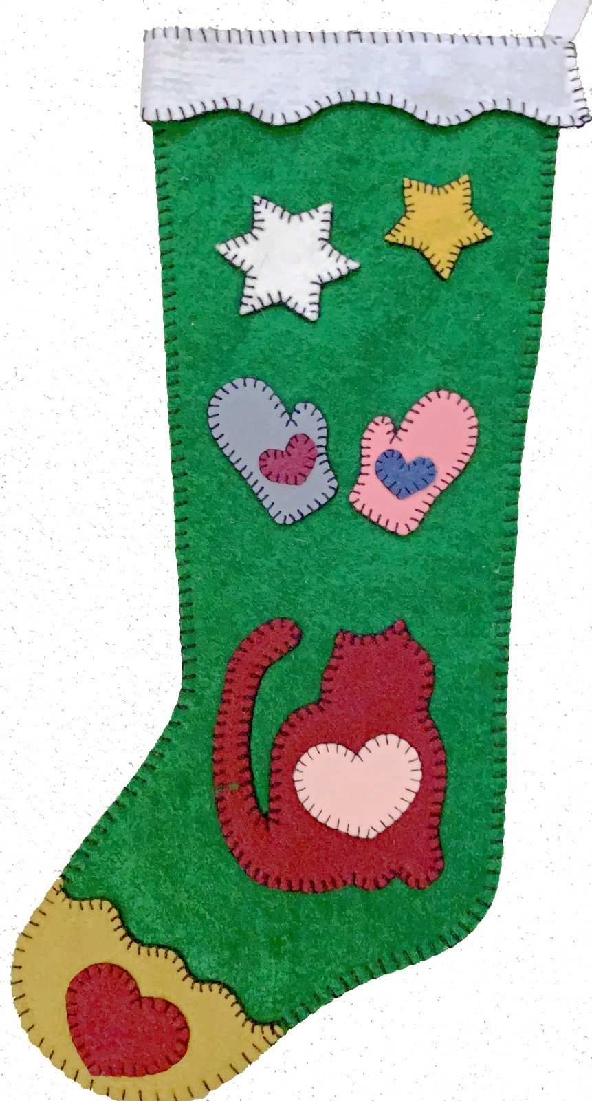 Kitty Love Stocking