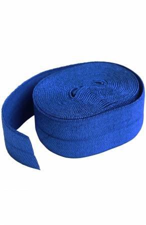 Fold-over Elastic 3/4in x 2yd - Blastoff Blue