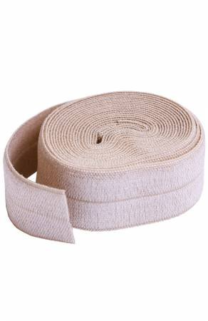 Fold-over Elastic 3/4in x 2yd - Natural Tan