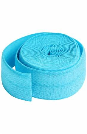 Fold-over Elastic 3/4in x 2yd - Parrot Blue