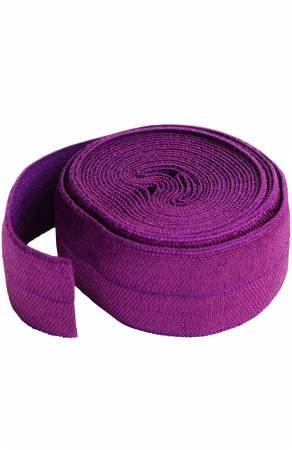 Fold-over Elastic 3/4in x 2yd - Tahiti Purple