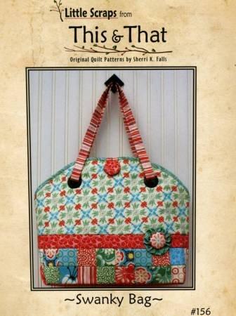 Swanky Bag Pattern by Sherri K. Falls / Little Scraps