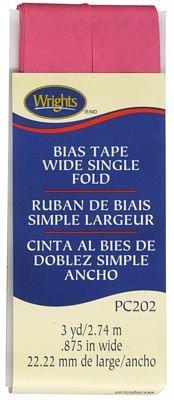 Bias Tape Wide Single Fold Berry Sorbet
