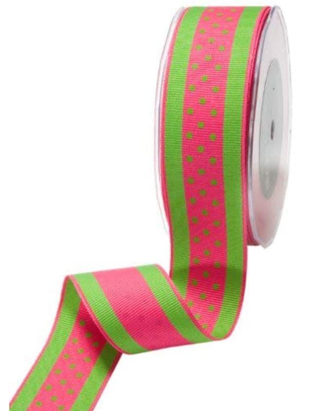 1.5 Grosgrain Ribbon Polka Dot