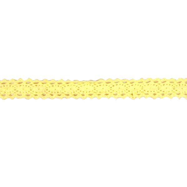 1/2 Yellow Crocheted Lace Trim