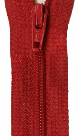 Ziplon Coil Zipper - 7in RED (#07-519) / YKK