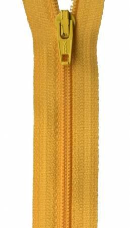 Ziplon Coil Zipper - 14in BUTTERCUP Yellow (#14-506) / YKK