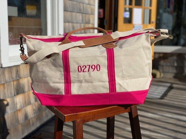 02790 Weekend Duffel Pink by ShoreBags