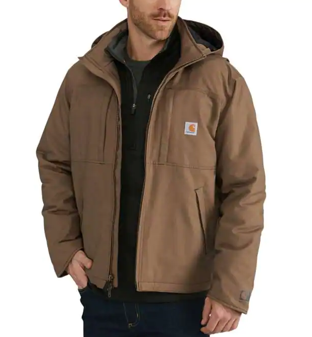 Carhartt Full Swing Quick Duck Jacket - Canyon Brown 102207